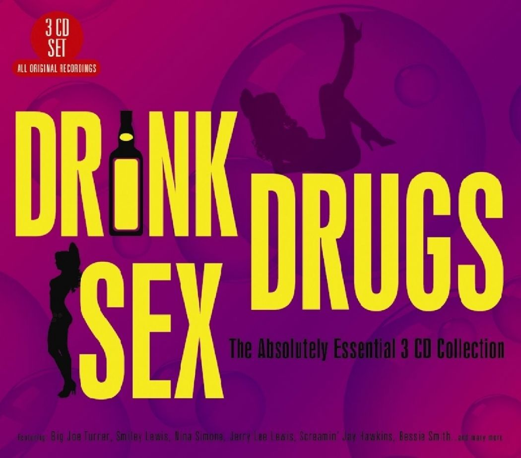 Drink Drugs Sex The Absolutely Essential 3CD Collection 2015(NEW N SEALED)
